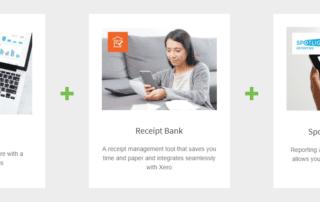 Ideal System, Spotlight, Receipt Bank, Xero